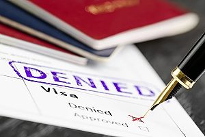 an EB-5 visa application that got rejected due to a mass number of requests for this specific type of visa
