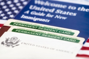 person applying for a green card