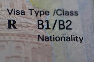 B1 Visa Class Type