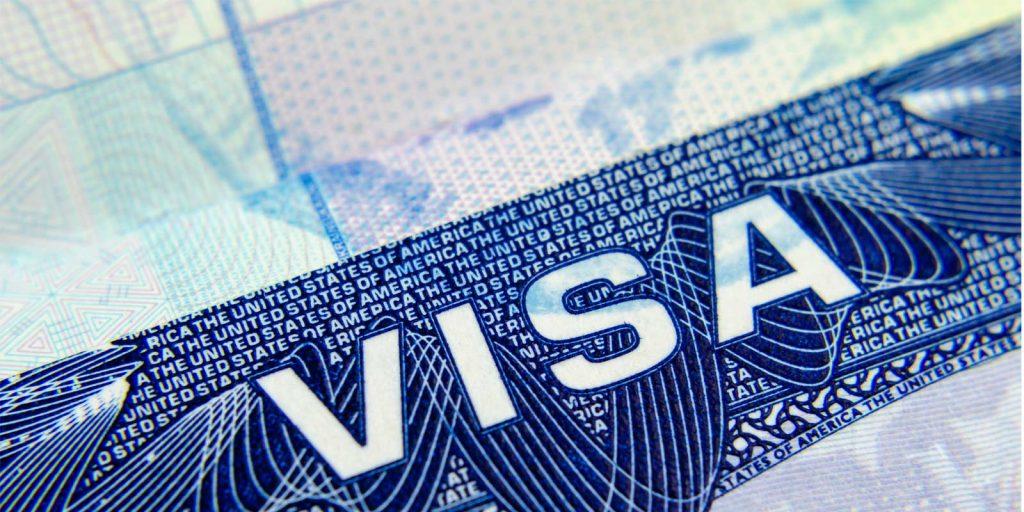 B1 Visa close up