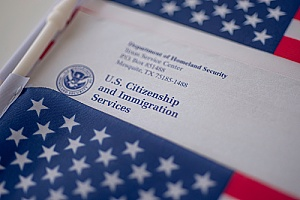 the USCIS who determines how long the h1b visa processing time takes for each individual