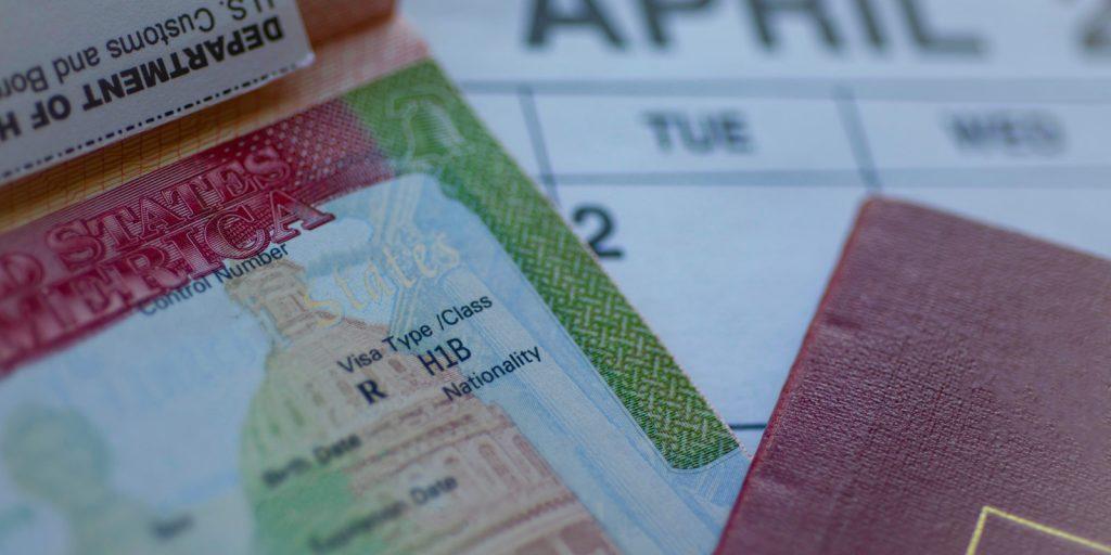 H-1B visa paperwork