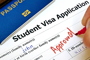 Student visa being approved