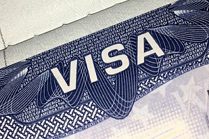 Visa paperwork for H-1B visa process