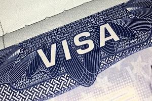 Visa paperwork for H-1B visa process