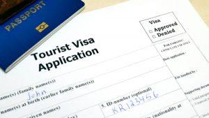 tourist visa application