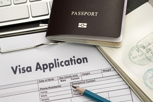 visa application form to travel Immigration